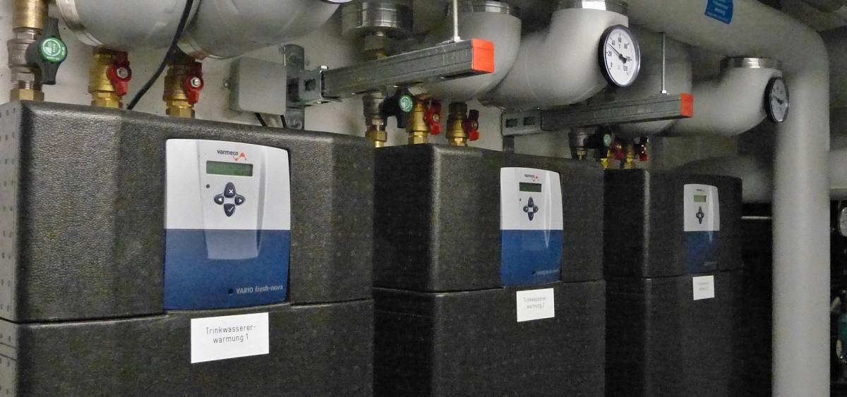 Exergieoptimierte Frischwarmwassertechnik